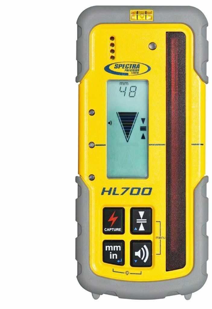 Odbiornik laserowy SPECTRA PRECISION HL700