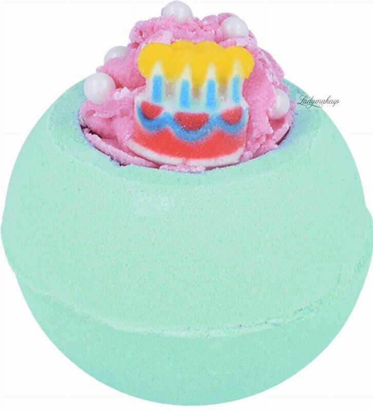 Bomb Cosmetics - Happy Bath-Day - Musująca kula do kąpieli - STO LAT