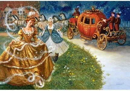 Puzzle Castor 60 - Kopciuszek, Cinderella