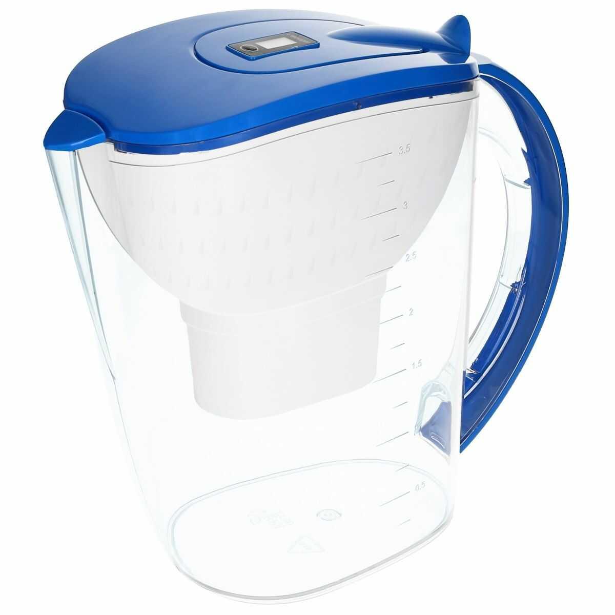 Dzbanek filtrujący do wody 3,5L AquaMax - NIEBIESKI - Wessper
