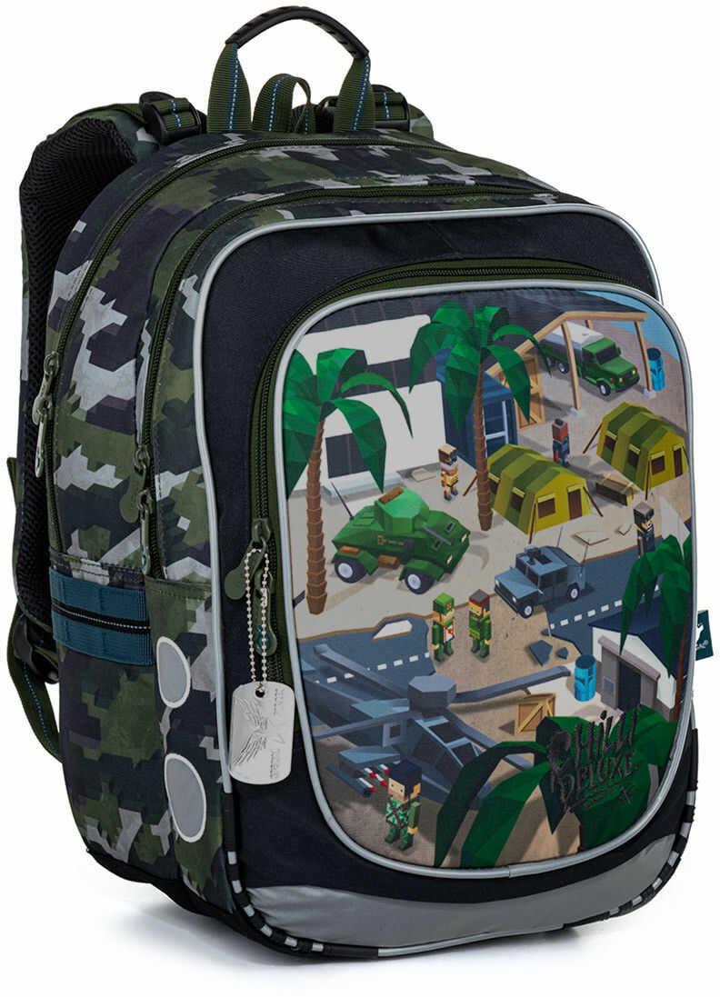 Plecak szkolny z wojskowym wzorem minecraft Topgal ENDY 21016 B