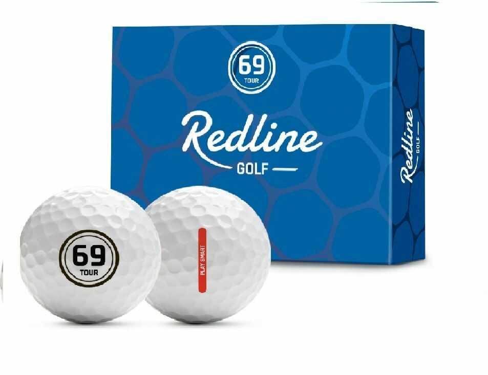 Piłki golfowe REDLINE 69 Tour (białe)