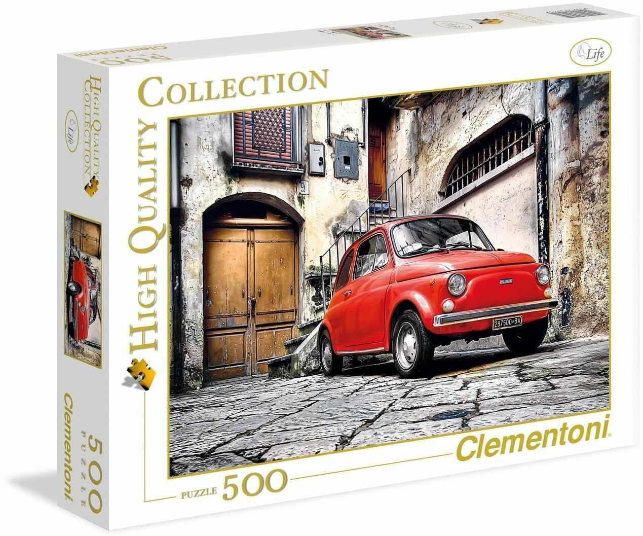 Puzzle Clementoni 500 - HQ - Fiat 500, Cinquecento - 500 pezzi