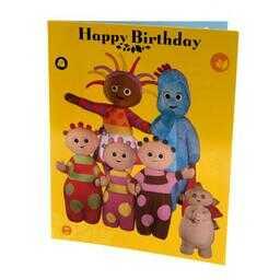 Dobranocny Ogród - kartka urodzinowa
