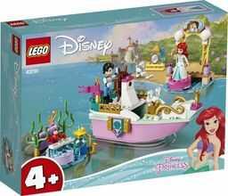 LEGO Disney Princess - Świąteczna łódź Arielki 43191