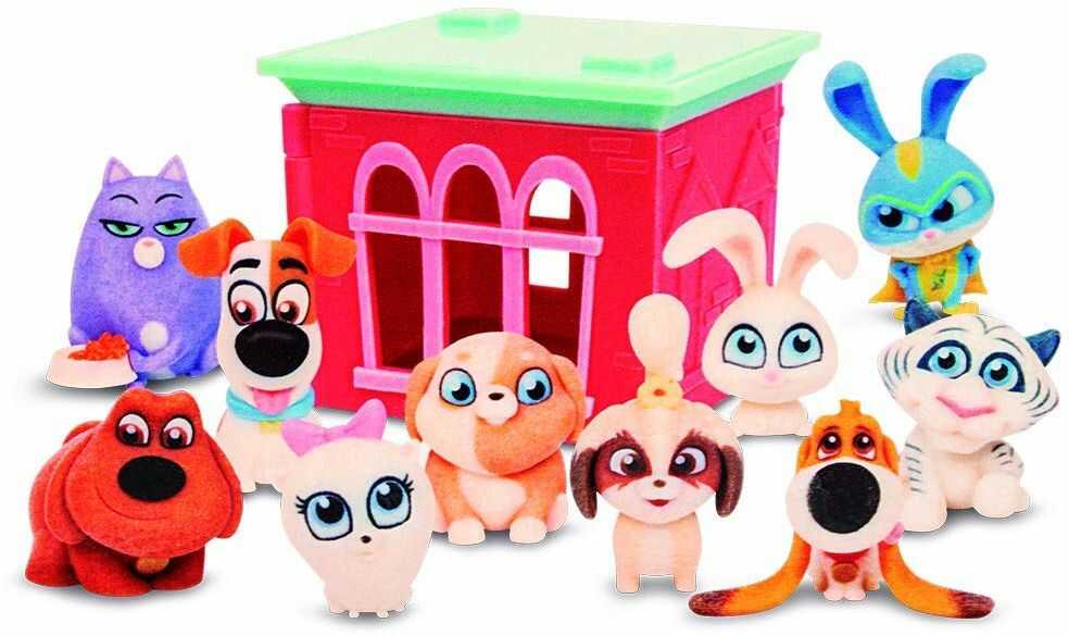 Mascotas 2 Giochi Preziosi ECENintendo domek do zabawy i figurka