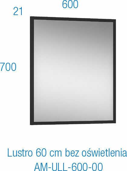 ASTOR Lustro MODUS 60 cm - ZNALAZŁEŚ TANIEJ? ZADZWOŃ 726 713 313