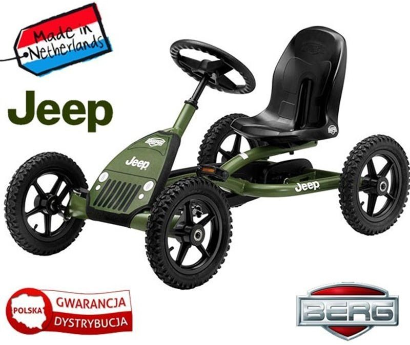 BERG Gokart na pedały Jeep Junior 3-8 lat do 50 kg