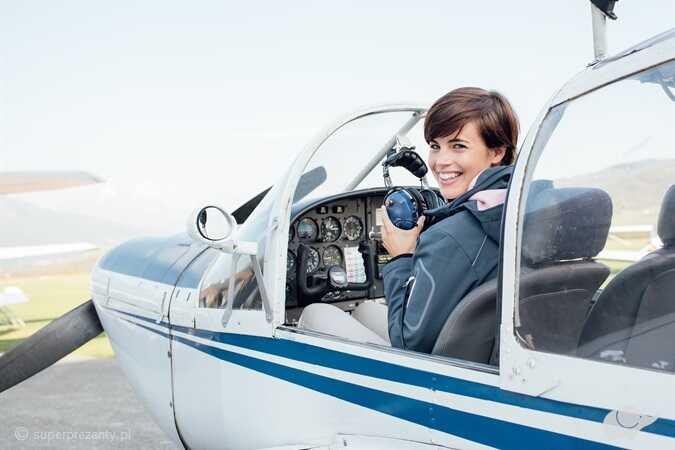 Zostań pilotem- lot szkoleniowy