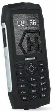Telefon komórkowy MYPHONE Hammer 3 Dual SIM Srebrny. DOSTARCZAMY JESZCZE DZIŚ ZA 0 ZŁ NA ZAMÓWIENIA OD 199 ZŁ! DOGODNE RATY NIE CZEKAJ!
