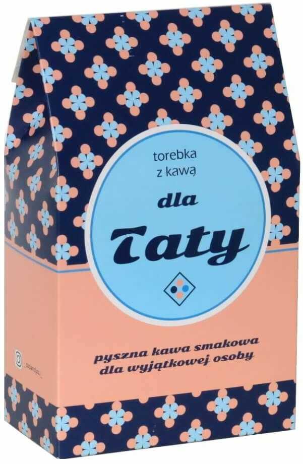 Torebka z kawą dla Taty - prezent upominek dla taty z okazji Dnia Ojca z kawą mieloną - 10 smaków x 10g