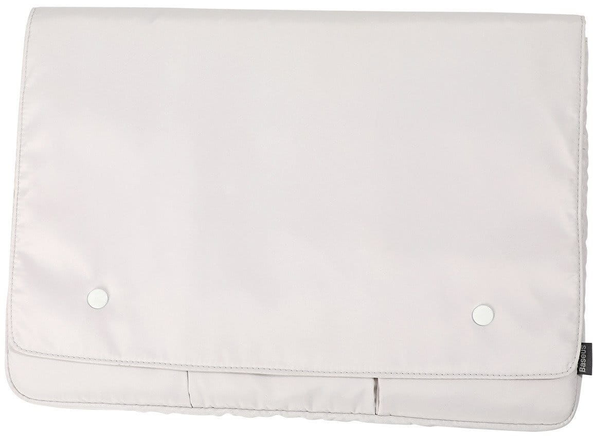 Etui Baseus Basics na laptopa do 13 cali (biały)