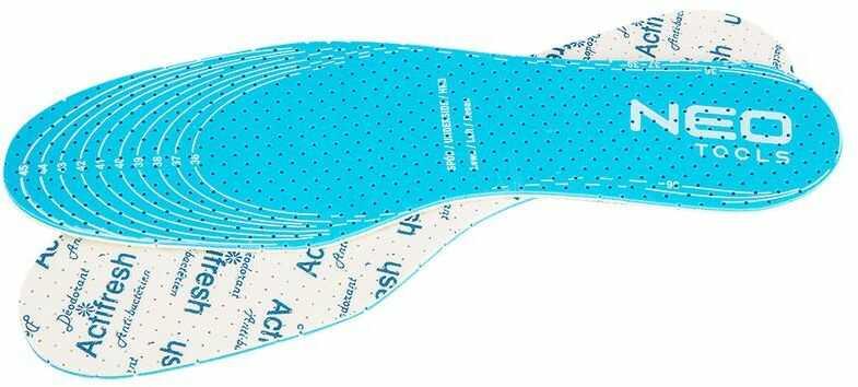 Wkładka do butów Actifresh - rozmiar uniwersalny - do docięcia. 82-300