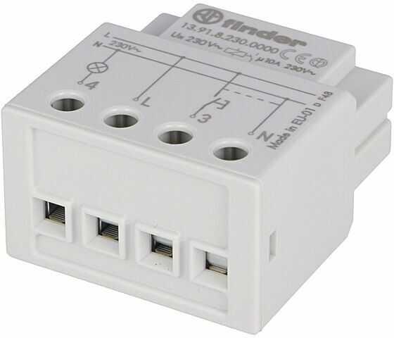 Przekaźnik czasowy FINDER bistabilny SPST-NO 230VAC Montaż DIN 10A
