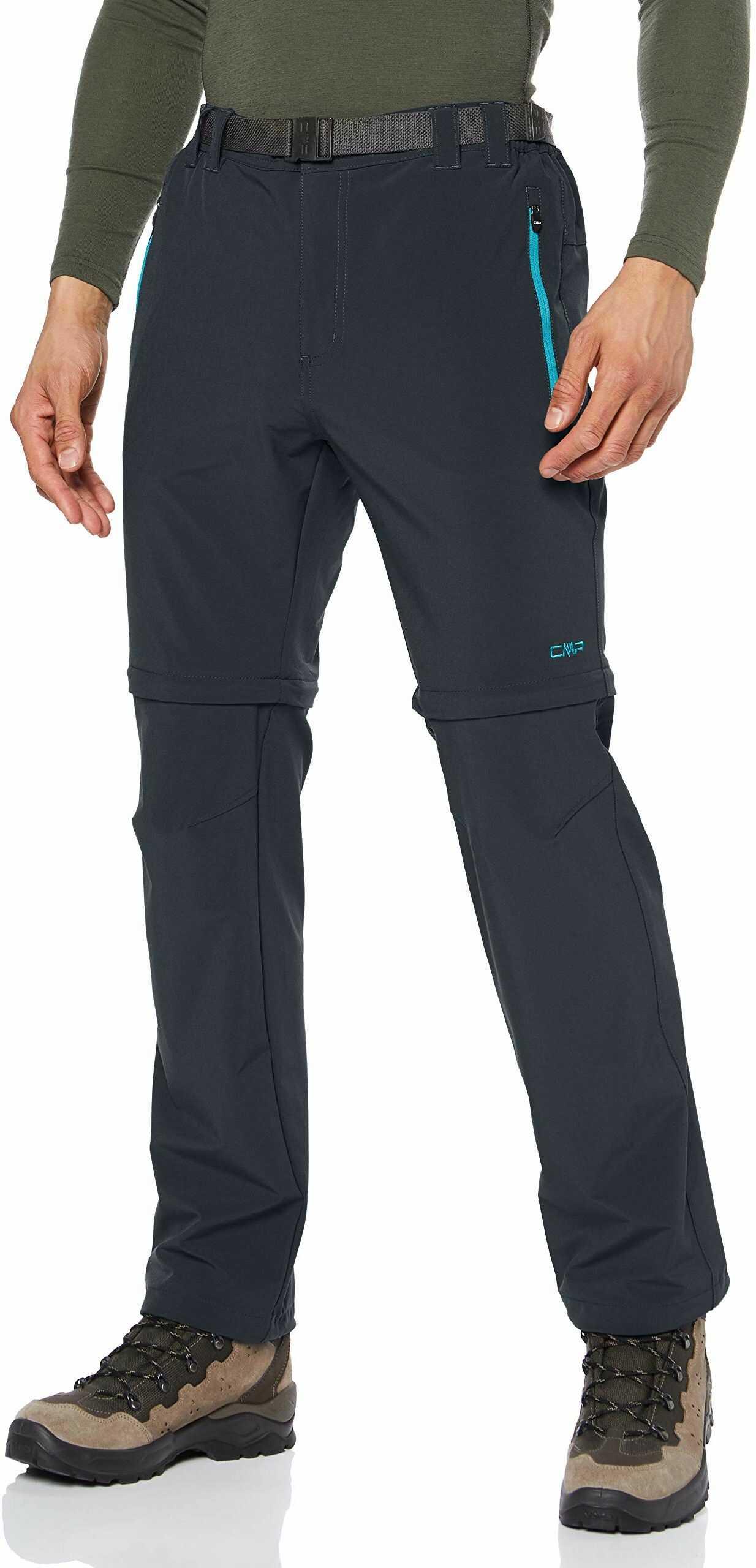 CMP męskie spodnie z odpinanymi nogawkami 3T51647CF, indigo, C29