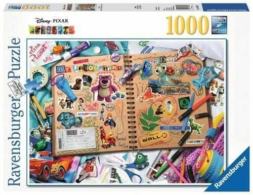 Puzzle Ravensburger 1000 - Album Disney, Disney Pixar scrapbook
