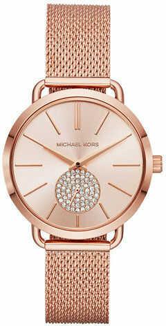 Michael Kors Zegarek Portia MK3845 Różowy