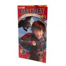 Jeźdźcy Smoków - kartka urodzinowa