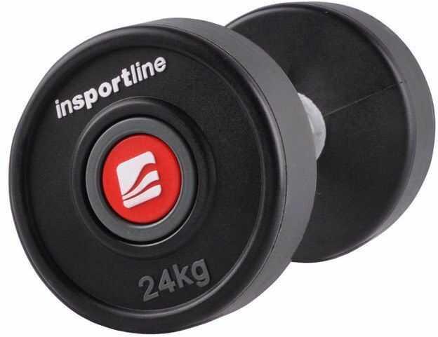 Hantla gumowana Profi Insportline 24 kg