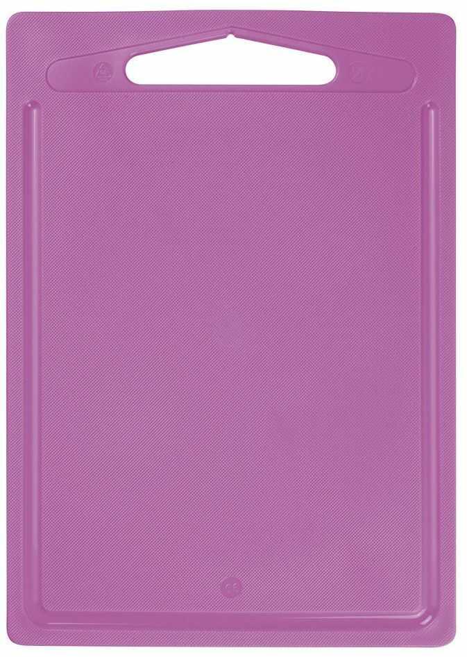 ELIPLAST linia kuchenna deska do krojenia, antypoślizgowa, fioletowa