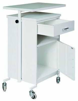 Przyłóżkowa szafka medyczna SZL 201 z regulowanym blatem szuflada