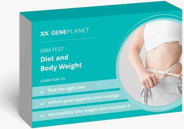 GenePlanet Test DNA Dieta i Masa Ciała