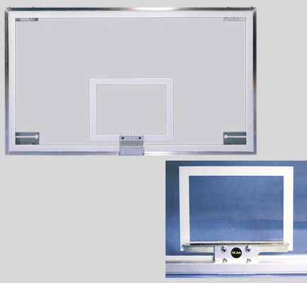 Szklana tablica do koszykówki 180x105 cm