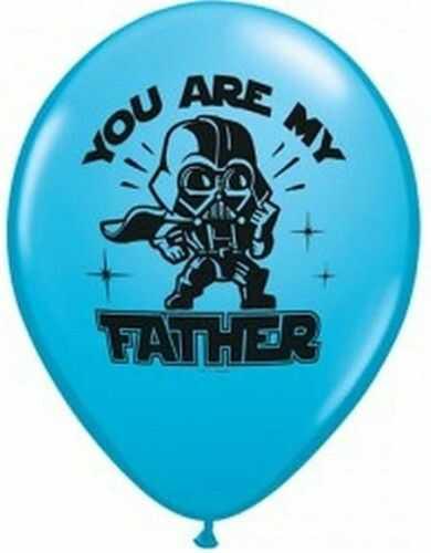 """Balon 11"""" Star Wars - Gwiezdne Wojny, pastel błekitny"""