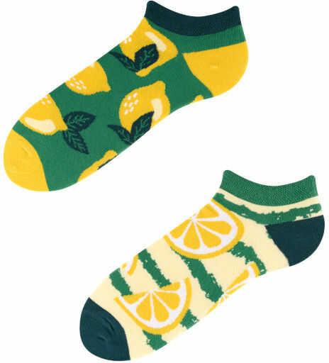 Stopki, Lemon, Todo Socks, Cytryny, Owoce, Limonki, Kolorowe