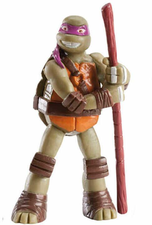 Dekoracyjna figurka tortowa Wojownicze Żółwie Ninja - Donatello - 1 szt.