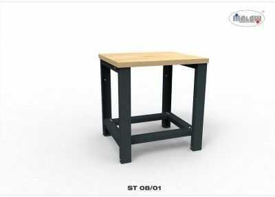"""Stół warsztatowy ST08/01 """"JEDYNKA"""" blat roboczy 450 kg 800 mm"""