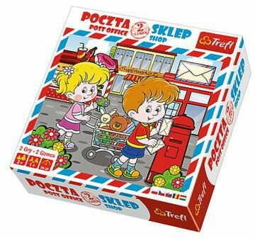 Trefl - Gra Poczta i sklep 01271