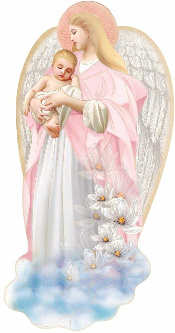 Anioł Stróż na Chrzest dla dziewczynki