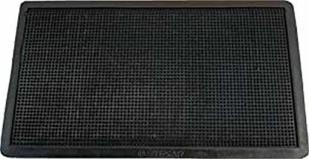 Textiles SAR wycieraczka gumowa, 40 x 70 cm, czarna, 40 x 70 cm