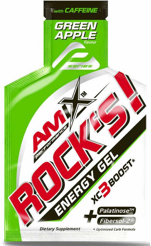 AMIX Rock''s! Energy Gel With Caffeine 32g ZEL ENERGETYCZNY Z KOFEINA