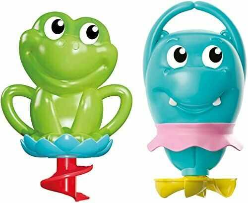 Clementoni 1744 Moja pierwsza zabawa w kąpieli  zabawka kąpielowa  zabawka dla niemowląt dla małych dzieci  zabawka edukacyjna  od 6 miesięcy
