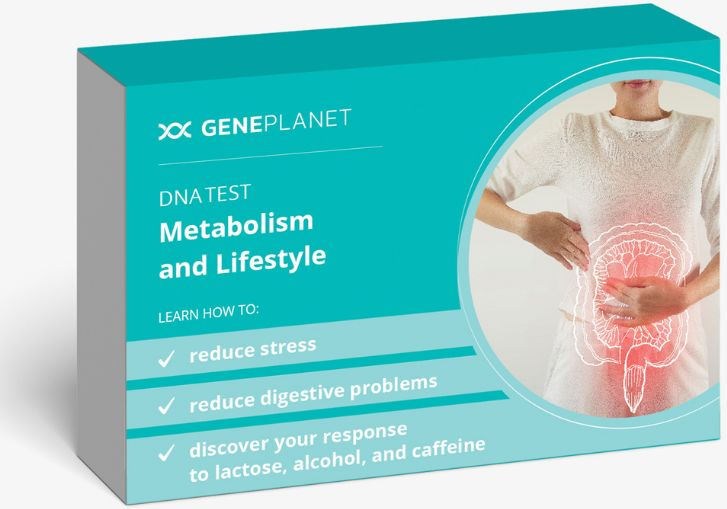 GenePlanet Test DNA Metabolizm i Styl Życia