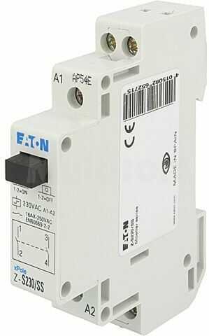 Przekaźnik instalacyjny EATON ELECTRIC bistabilny DPST-NO Ucewki:230VAC
