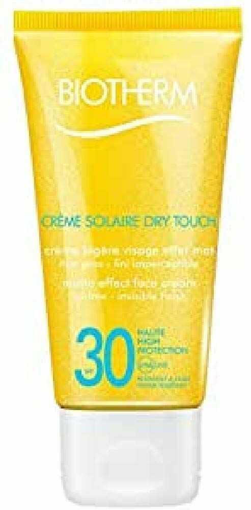 Biotherm Creme Solaire Dry Touch Visage SPF 30 krem do opalania, unisex, 50 ml
