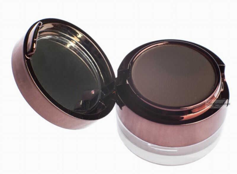 Ibra - Eyebrow Pomade & Powder - Zestaw do makijażu brwi - Pomada i cień do brwi z pędzelkiem - BROWN