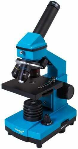 Mikroskop Levenhuk Rainbow 2L PLUS Azure Lazur