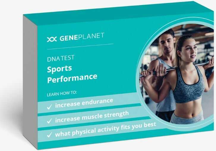 GenePlanet Test DNA Wydolność Sportowa