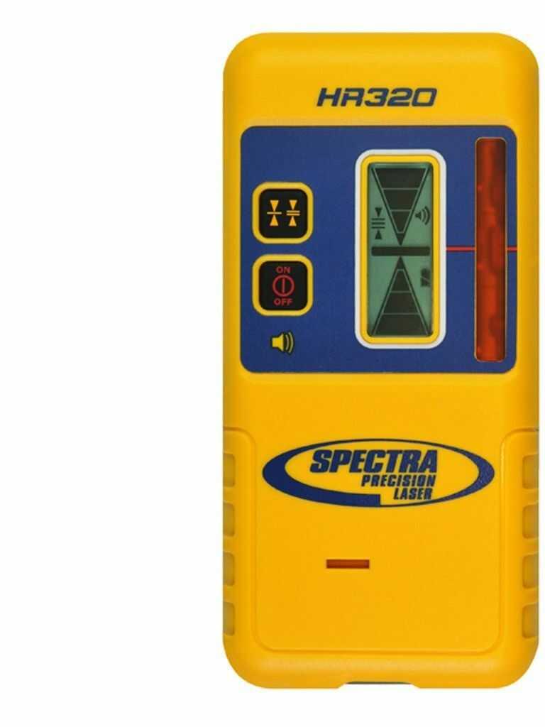 Odbiornik laserowy SPECTRA PRECISION HR320