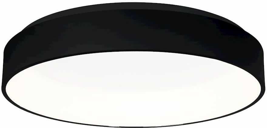 Milagro OHIO BLACK ML3833 plafon lampa sufitowa czarny matowy owalny 32W LED 4000K 60cm