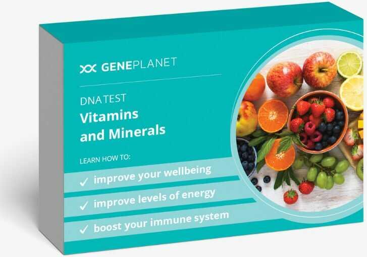 GenePlanet Test DNA Witaminy i Minerały