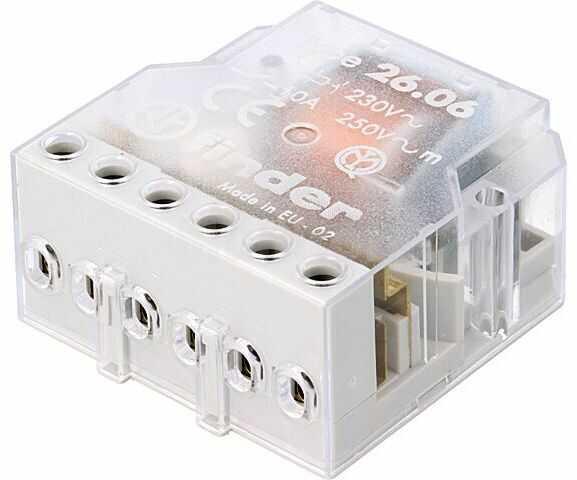 Przekaźnik instalacyjny FINDER bistabilny DPST-NO Ucewki:230VAC