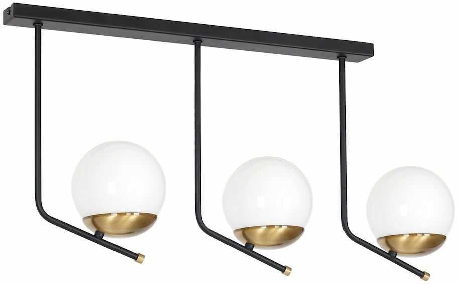 Milagro CARINA MLP4864 plafon lampa sufitowa szklane kule rustykalny 3xE14 65cm