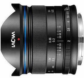 Obiektyw Laowa 7,5mm f/2.0 (Mikro 4/3) - standard czarny