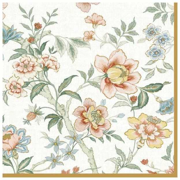 SERWETKI PAPIEROWE Kwiaty z ogrodu Zen