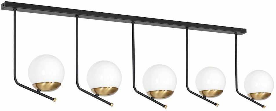 Milagro CARINA MLP4865 plafon lampa sufitowa szklane kule rustykalny 5xE14 110cm